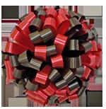 black red bows, car bows, large bows, big bows, larg gift bows