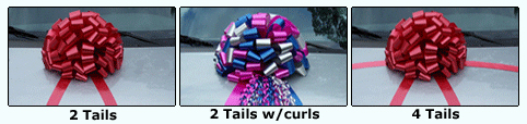 car bow tails