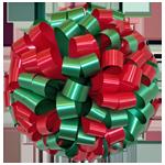 green red bows, car bows, large bows, big bows, larg gift bows