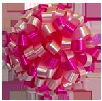 hot pink pastel pink white bows, car bows, large bows, big bows, larg gift bows