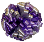lavender purple silver bows, car bows, large bows, big bows, larg gift bows