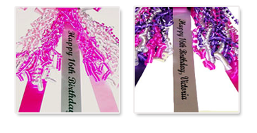car bow personalized printing