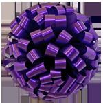 purple bows, car bows, large bows, big bows, larg gift bows